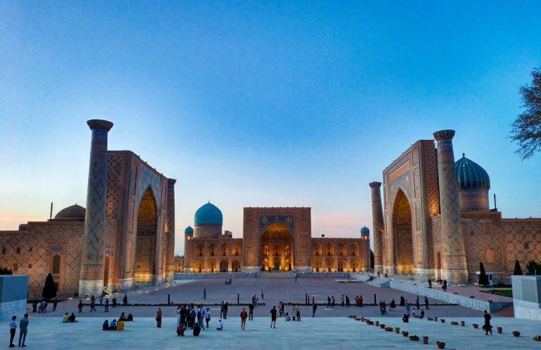 Самарканд, площадь Регистан