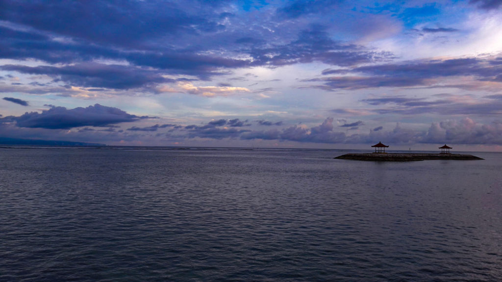 Закат Санур, Бали