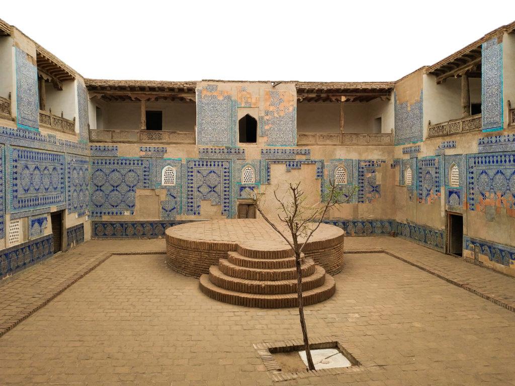Хива, Дворец