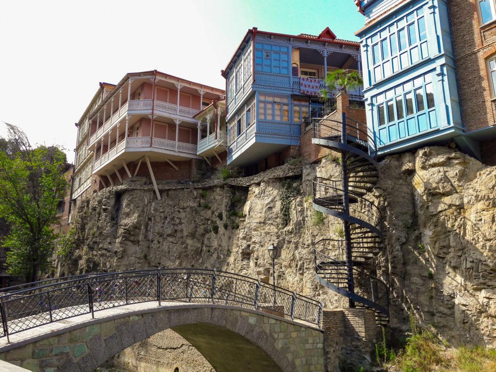 Район старого Тбилиси.