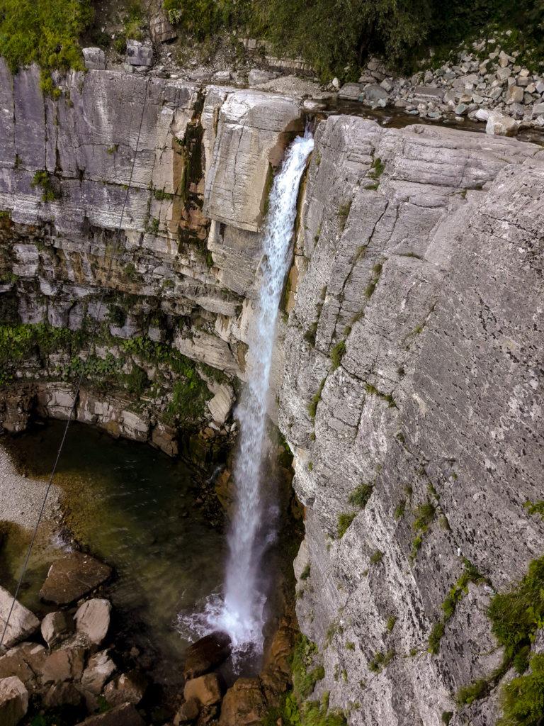 Водопад Кинчха в Имеретии.