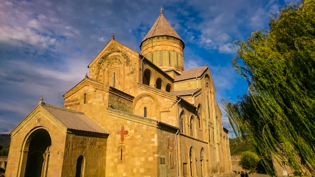 Собор Светицховели XI в. в Мцхете.