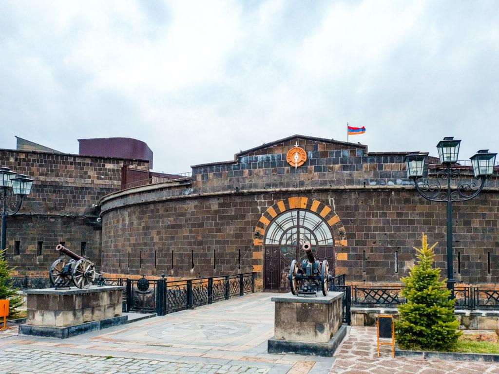 """Сев-берд - """"Чёрная крепость"""" в Гюмри"""