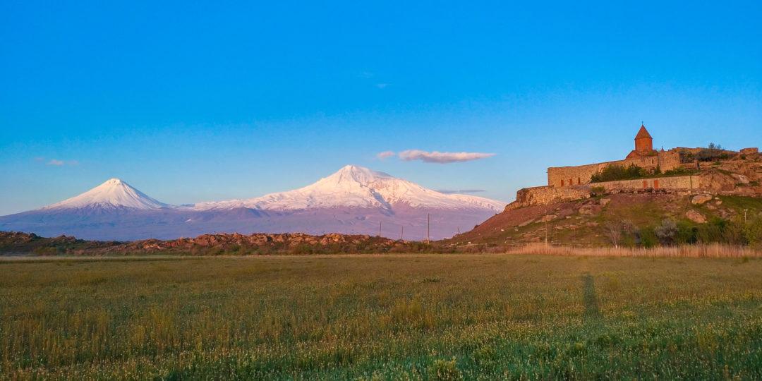Гора Арарат на рассвете