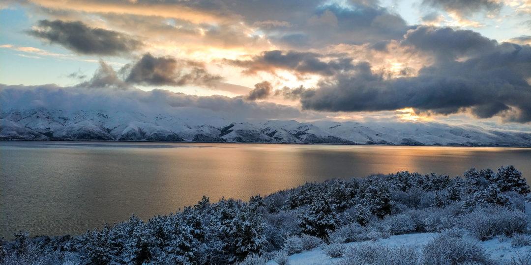 Высокогорное озеро Севан