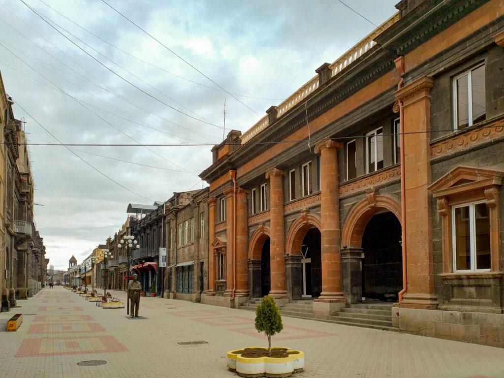 Пешеходная улица Абовяна