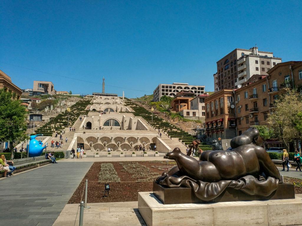 Каскад, Армения