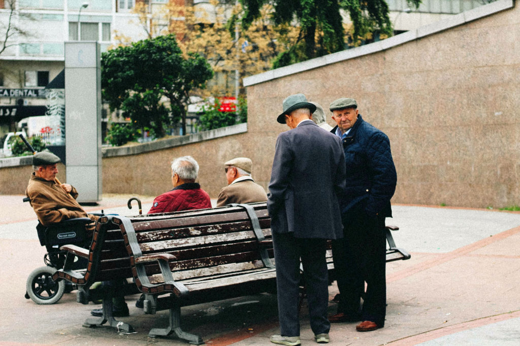 Пожилые испанцы