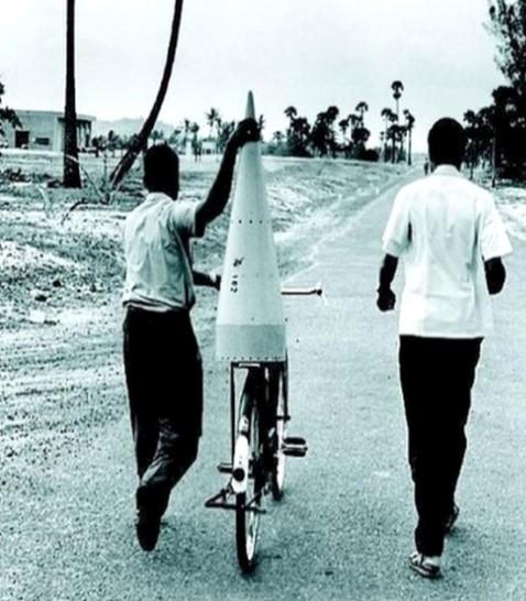 Ракета на велосипеде