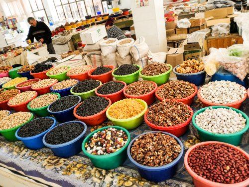 Бухара, рынок